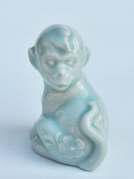 Chinese Twelve Zodiac Symbol Tea Pet--Monkey