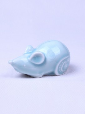 Delicate Twelve Zodiac Symbol Tea Pet--Rat