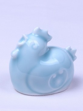 Delicate Twelve Zodiac Symbol Tea Pet--Rooster