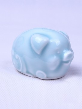 Delicate Twelve Zodiac Symbol Tea Pet--Pig