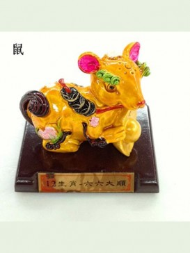 Chinese Zodiac Cochin Ceramics Decoration Series--Rat