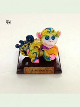 Chinese Zodiac Cochin Ceramics Decoration Series--Monkey