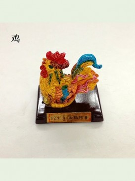 Chinese Zodiac Cochin Ceramics Decoration Series--Rooster