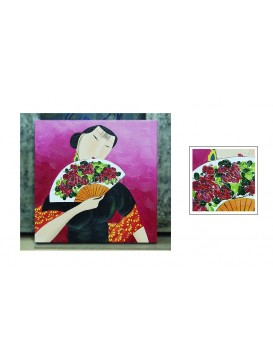 Chinese Oil Painting---Shy
