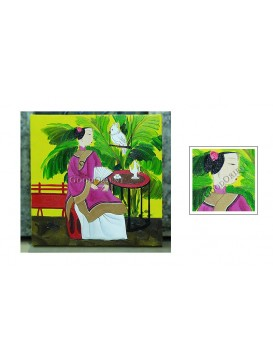 Chinese Oil Painting---Talking