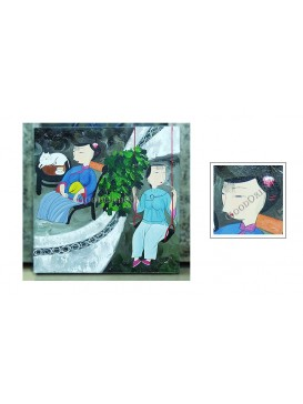 Chinese Oil Painting---Inside and Outside