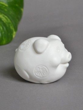 Traditional Zodiac Symbol Porcelain Decoration--Pig