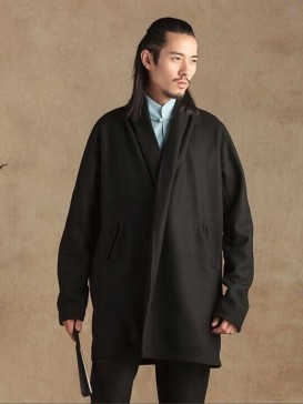Simple Hanfu Style Men's Gown