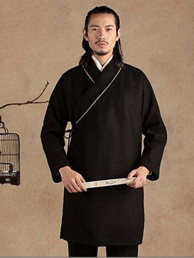 Leisure Hanfu Style Men's Gown
