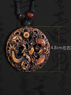 Delicate Oriental Style Necklace Series--Dragon