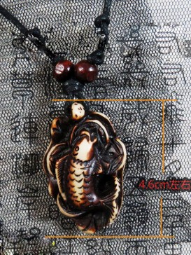 Delicate Oriental Style Necklace Series--Fish