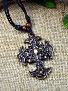 Ethnic Oriental Style Necklace Series--The Cross