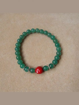 Authentic Red Bean Pu Ti Bracelet