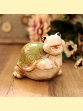 Oriental Lovely Style Pottery Series--Turtle