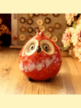 Oriental Lovely Style Pottery Series--Owl
