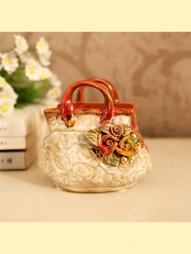 Oriental Lovely Style Pottery Series--Purse