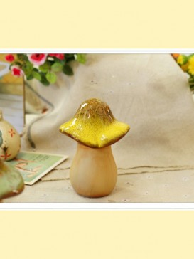 Oriental Lovely Style Pottery Series--Mushroom