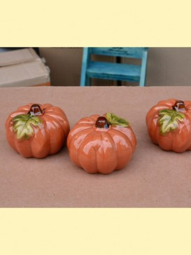 Oriental Lovely Style Pottery Series--Pumpkin