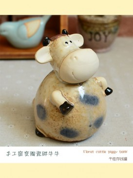 Oriental Lovely Style Pottery Series--Cattle