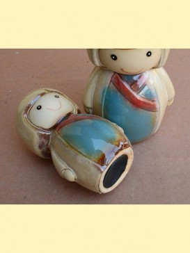 Oriental Lovely Style Pottery Series--Girl