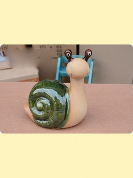 Oriental Lovely Style Pottery Series--Snail