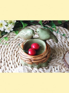 Exquisite Lovely Style Pottery Series--Bird