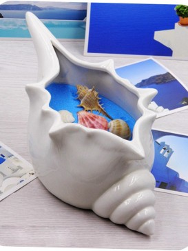 Creative Lovely Style Pottery Series--Conch