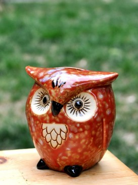 Special Lovely Style Pottery Series--Owl
