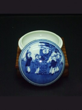 Oriental Style Seal Ink Container--Children