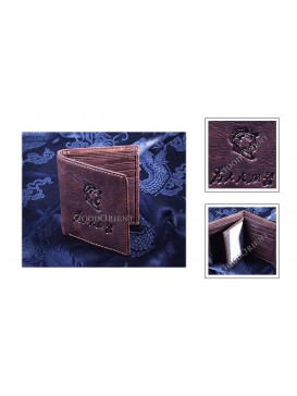 Small Chairman Mao Leather Wallet