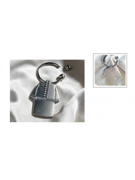 Chinese Men Jacket Key Chain
