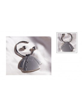 Chinese Women Blouse Key Chain