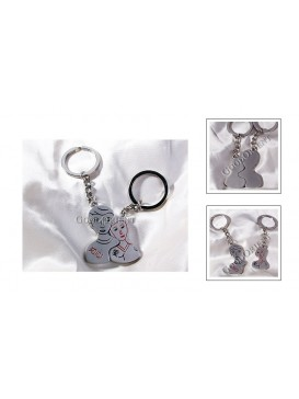 Intimate Lover's Key Chains Set