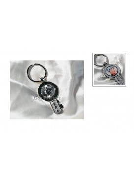 Key-shaped Chairman Mao Key Chain