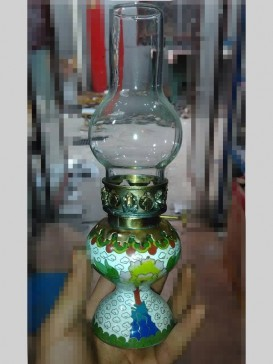 Attractive Cloisonne Style Light Decoration
