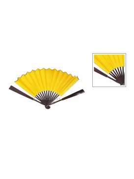 Simple Yellow Paper Blank Fan