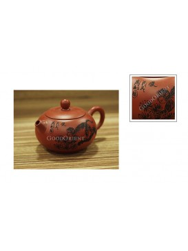 Chinese Zodiac Purple Sand Teapot---Monkey