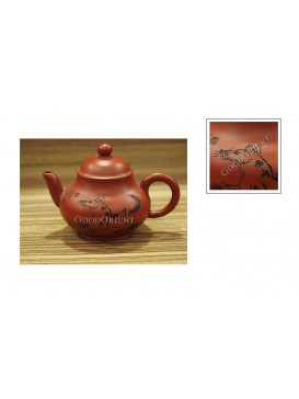 Chinese Zodiac Purple Sand Teapot---Dog