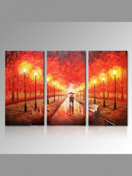Exquisite Abstract Hand Painted Oil Painting
