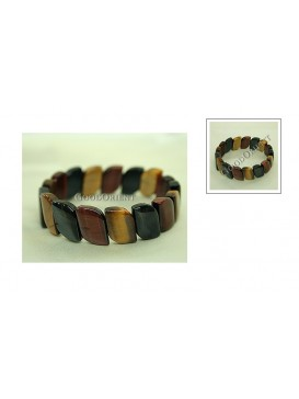 Curve Tiger Eye Bracelet
