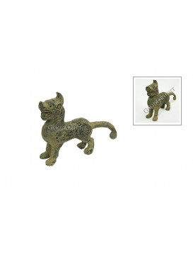 Imitated Maya Antique Style Dog Terra Cotta Statue