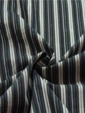 Blue Stripe Fabric
