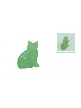 Jade Kitty Decoration