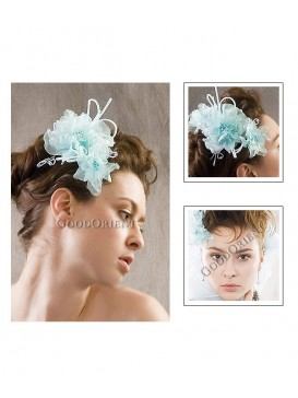 Pure Peony Series Hair Ornament---Blue Peony