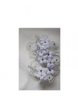 Pure Peony Series Dress Ornament---White