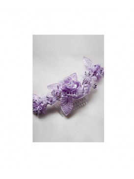 Pure Peony Series Hair Ornament---Lavender