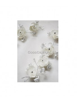 Pure Peony Series Dress Ornament---Cream