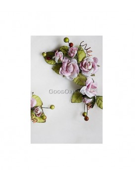 Pure Peony Series Hair Ornament---Pink