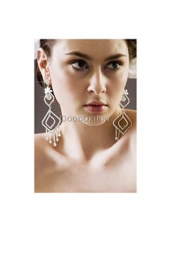 Xin Guang Imitated Crystal Earrings