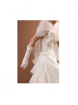 Elegant Bridal Wedding Gloves